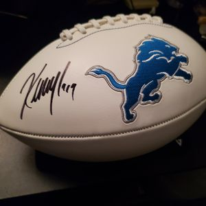 Kenny Golladay Signed Football for Sale in Shelton, CT