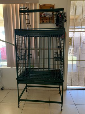 Big metal cage. Like new for Sale in Glendale, AZ