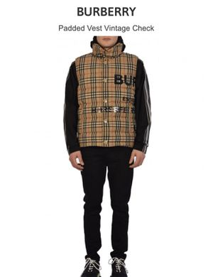 Authentic - Burberry - Padded Vintage Check - Vest for Sale in Seattle, WA
