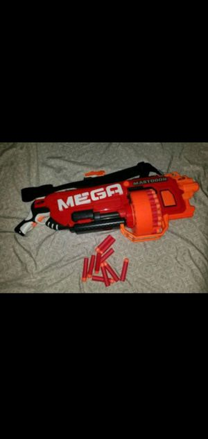 Nerf mastodon mega gatling gun for Sale for sale  New York, NY