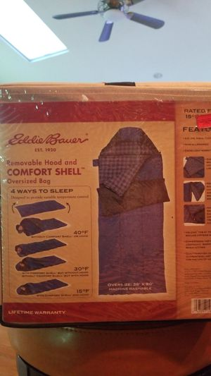 Eddie bauer sleeping bag for Sale in Glen Head, NY