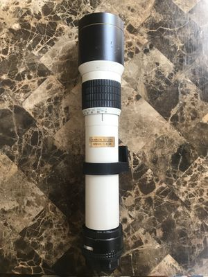 Vintage Rokinon ED 500mm Lens for Sale in Hartford, CT