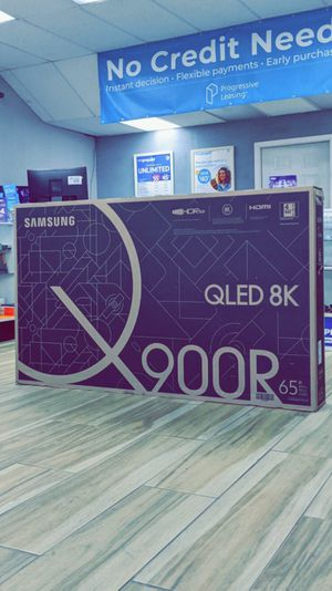 Samsung 65 inches - Class - LED - Q900 Series - 4320p - Smart - 8K UHD TV with HDR | Brand New in Box !! $50 DOWN / $50 WEEKLY !! for Sale in Arlington, TX