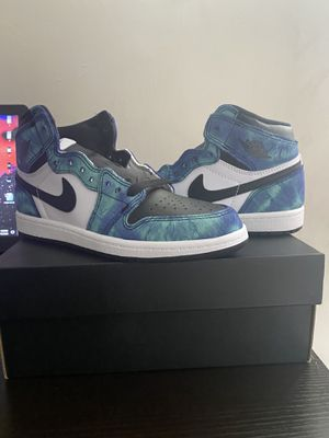 Jordan 1 Retro High Tie Dye (PS) SIZE 3y for Sale in Stoneham, MA
