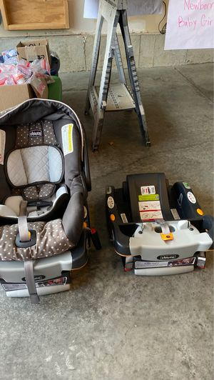 Chicco Car seat with 2 bases for Sale in Kansas City, MO
