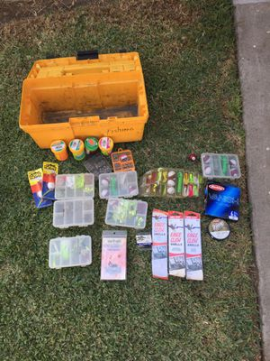 Fishing box for Sale in West Covina, CA