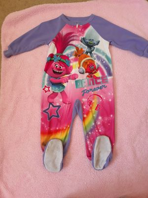 Trolls 2t footed pajamas for Sale in North Las Vegas, NV