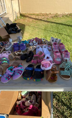Baby girl clothes, shoes and toys for Sale in Bell Gardens, CA