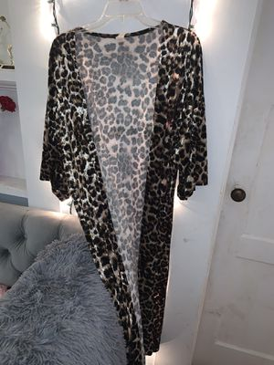 leopard duster for Sale in Marion, LA