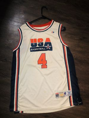 Vintage USA Basketball #4 Jersey for Sale in Columbus, OH