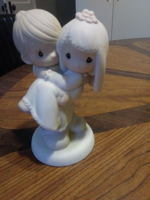 Precious moments, I used it as my wedding cake topper, it retailed at$75 for Sale in Festus, MO