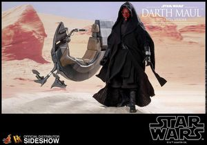 Hot Toys 1/6 Darth Maul with Sith Speeder NEW BOXED for Sale in San Diego, CA