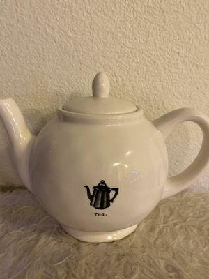 Rae Dunn 'Tea.' Tea Pot for Sale in San Diego, CA