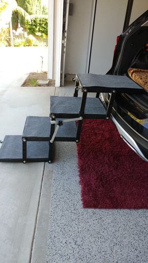 Heavy duty Portable Accordion style Pet Stairs for Sale in Yorba Linda, CA