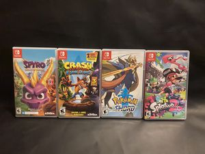 Nintendo switch games for Sale in Willow Street, PA