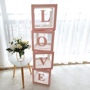 Transparent LOVE Boxes for Sale in Gilbert, AZ