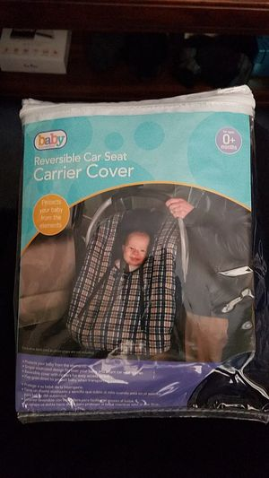 Reversible car seat carrier cover for Sale in Parma, OH