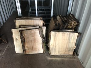 Live Edge Wood Slabs! Fresh cut! for Sale in Bremerton, WA