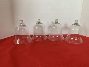 Home Interiors Glass Votive Sconces Candle Holders Cups Set of 4 for Sale in Riverside, CA