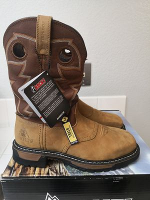 Brand new rocky steel toe work boots size 7 for Sale in Riverside, CA