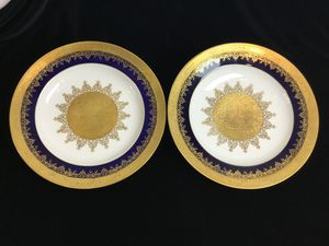 Pair of Antique/Vintage Cabinet Plates for Sale in Fairfax Station, VA