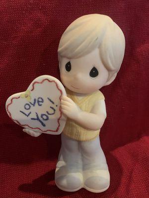 Precious Moments Love You-boy figurine for Sale in Punta Gorda, FL
