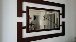 Dark brown wall mirror for Sale in Miami, FL