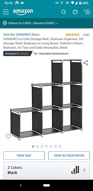 6 cube storage rack for Sale in Wellesley, MA
