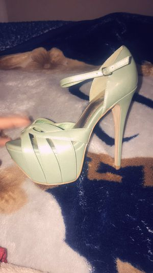 Mint green Hight heels 👠 for Sale in St. Louis, MO