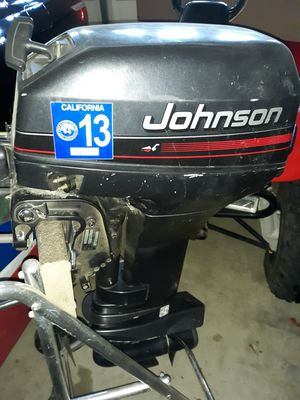 Johnson 15 hp outboard motor for Sale in Simi Valley, CA