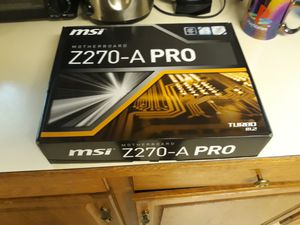 Msi 270 motherboard with 6600k processor for Sale in Tacoma, WA