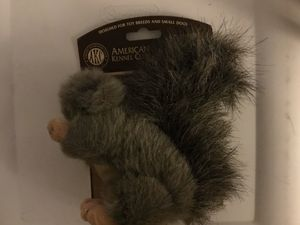 AKC DOG TOY WITH SQUEAKER SQUIRREL AMERICAN KENNEL CLUB for Sale in Bakersfield, CA