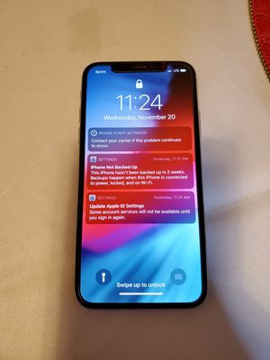 iPhone X 256GB Sprint for Sale in New York, NY