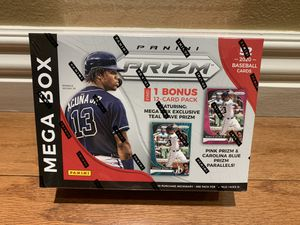 2020 Panini Prizm Baseball Factory Sealed Mega Box 10 Packs Plus 1 Extra Pack 52 Cards Per Box for Sale in Buena Park, CA