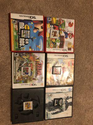 Nintendo DS Games (6) for Sale in Ballinger, TX