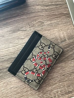Gucci wallet/cardholder for Sale in Las Vegas, NV