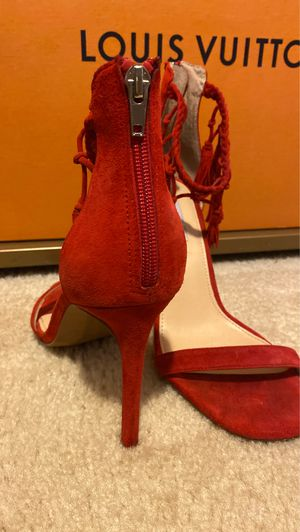 Red open toe heels for Sale in Norcross, GA