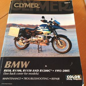 BMW motorcycle service manual 93-2005 for Sale in Chevy Chase, MD