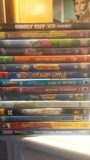 DVD MOVIES FOR KIDS for Sale in Garden Grove, CA