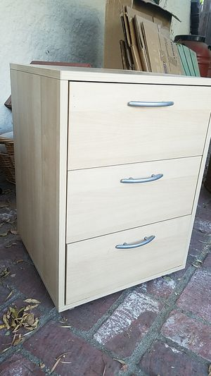 Ikea 3-drawer office cabinet for Sale in Los Angeles, CA