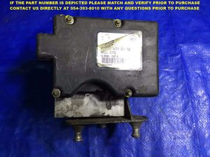 97-00 Mercedes W170 SLK230 Anti-Lock Brake MCU ETS ABS Module A 003 431 03 12 for Sale in Miami Gardens, FL