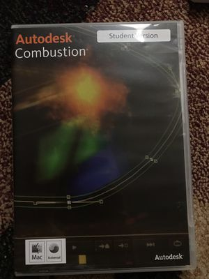 Autodesk Combustion 2008 Software Student Version For Mac for Sale in Bellevue, WA