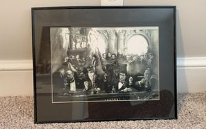 Framed gangster picture for Sale in Marietta, PA