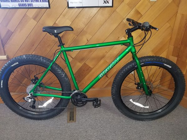 New fat tire 27.5x3.0 large frame