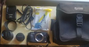 New Panasonic Lumix Dmc-gx1 Camera Bundle with Bag for Sale in Hacienda Heights, CA