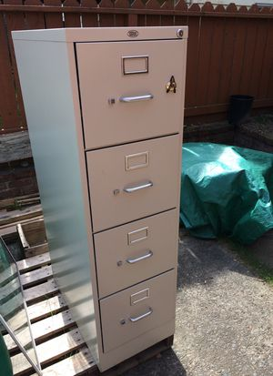 Filing Cabinet - 4 drawers for Sale in Seattle, WA