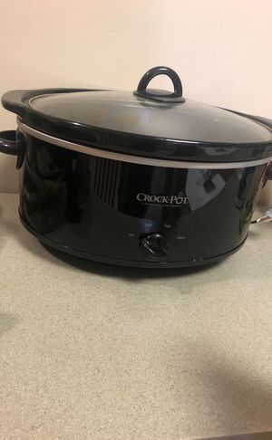 Crock pot 7 qt for Sale in Fort Campbell, TN