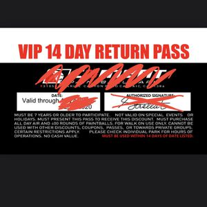 Paintball passes for Sale in Los Angeles, CA