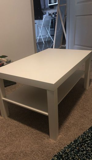 IKEA Lack coffee table, white, 35in x 22in for Sale in Houston, TX