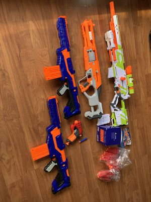 Various NERF Guns for Sale in San Jose, CA